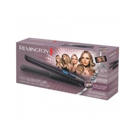 Placa de par - Remington - Pro Sleek & Curl - S6505 E51