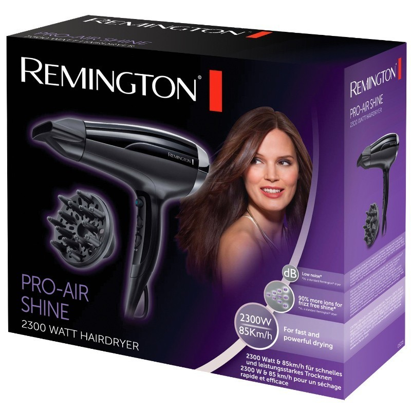 Remington - Pro Air Shine 2300 Watt - Uscator de par