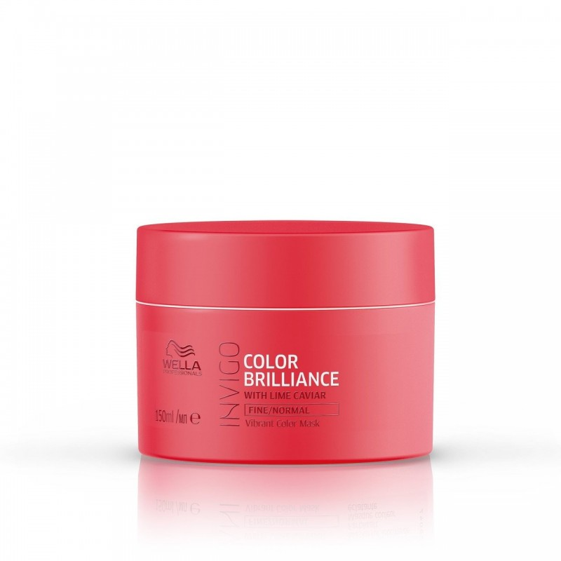 Wella Proffesionals - INVIGO - Color Brilliance Mask - Masca pentru par vopsit cu structura fina/normala - 150ml