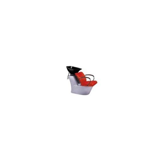 Unitate de spalare SX-2989 - rosu/negru