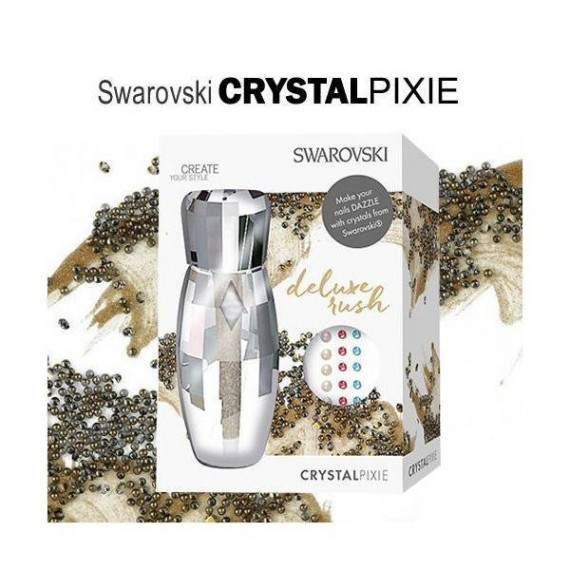SWAROVSKI CRYSTAL PIXIE - DELUXE RUSH - Pearl Nails