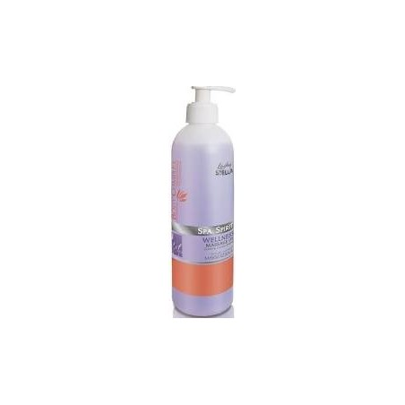 Lady stella - spa spirit wellness massage oil- 500ml