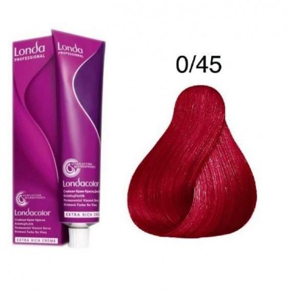 0/45 - Pigment - Mix Rosu Aramiu - LondaColor - Vopsea de par - Londa Professionals - 60 ml