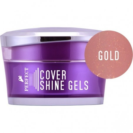 Perfect Nails - Cover Gold Shine Gel - 5 gr