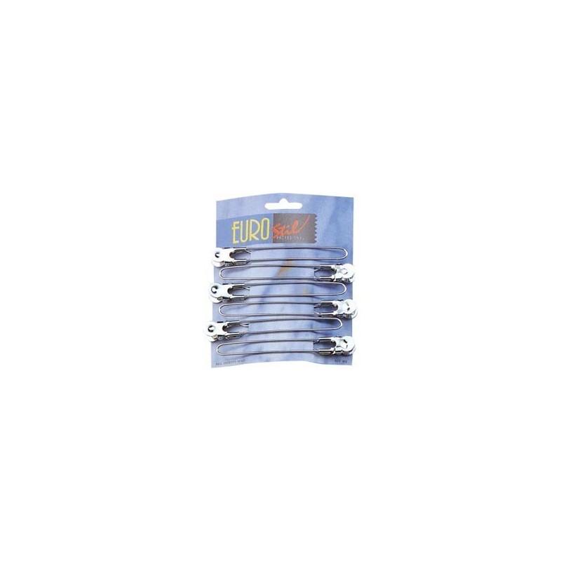Eurostil - Clame de par metal set 6 buc - 00804