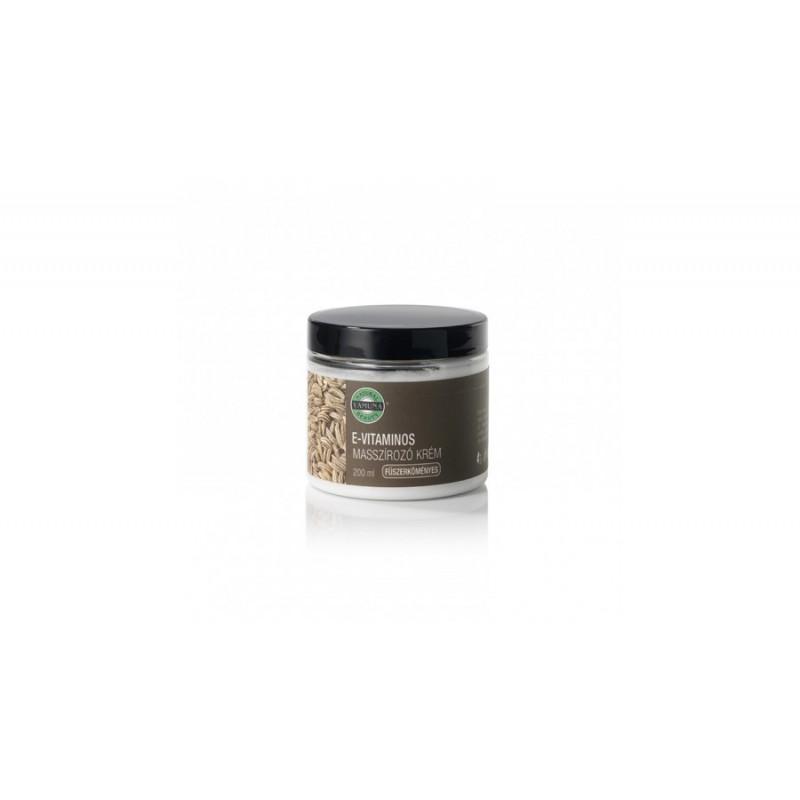 Cremă pentru masaj cu vitamina E si chimion - 200 gr