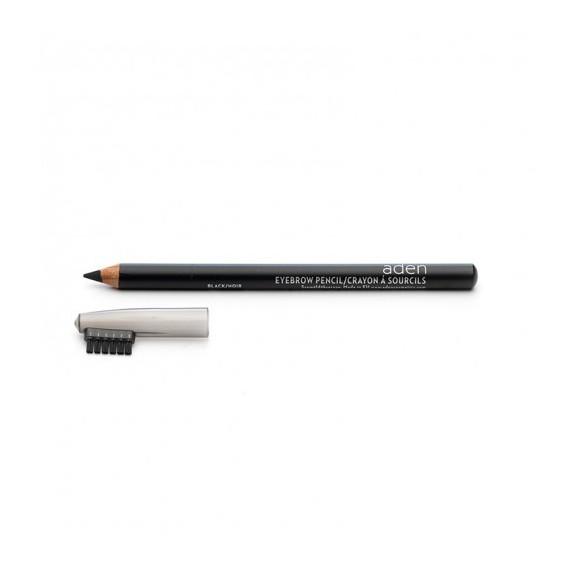 Creion pentru sprancene - negru - Aden Cosmetics