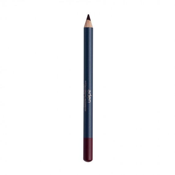 Creion contur buze - lip liner - Bordeaux - Aden Cosmetics