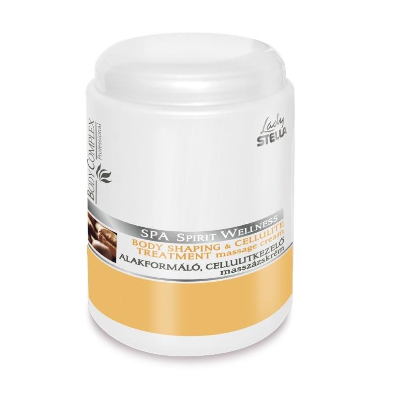 Lady Stella - Spa Spirit Wellness - Crema de masaj anticelulitic cu cofeina - 1000ml