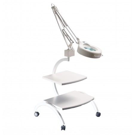 Ucenic pentru cosmetica de doua trepte cu suport pentru lampa  - Bucsanyi - 3007