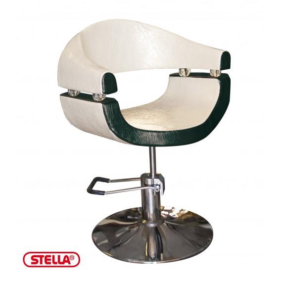 Stella - Scaun pentru coafor - Maro Satin - SX2107/A